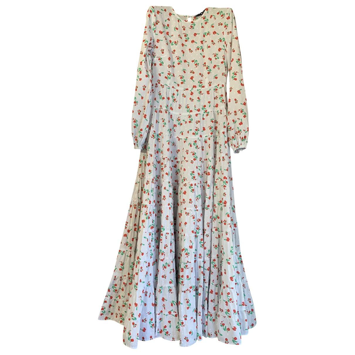 Rixo \N White Cotton dress for Women XXS International
