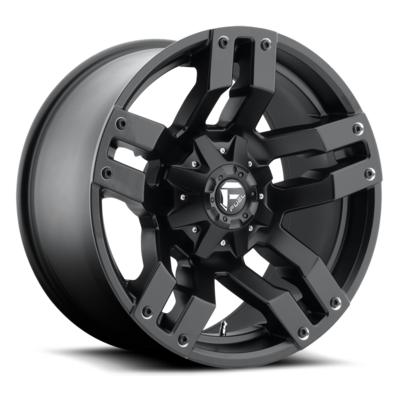 MHT Fuel Offroad D515 Pump, 20x9 Wheel with 6 on 135 and 6 on 5.5 Bolt Pattern - Matte Black - D51520909850