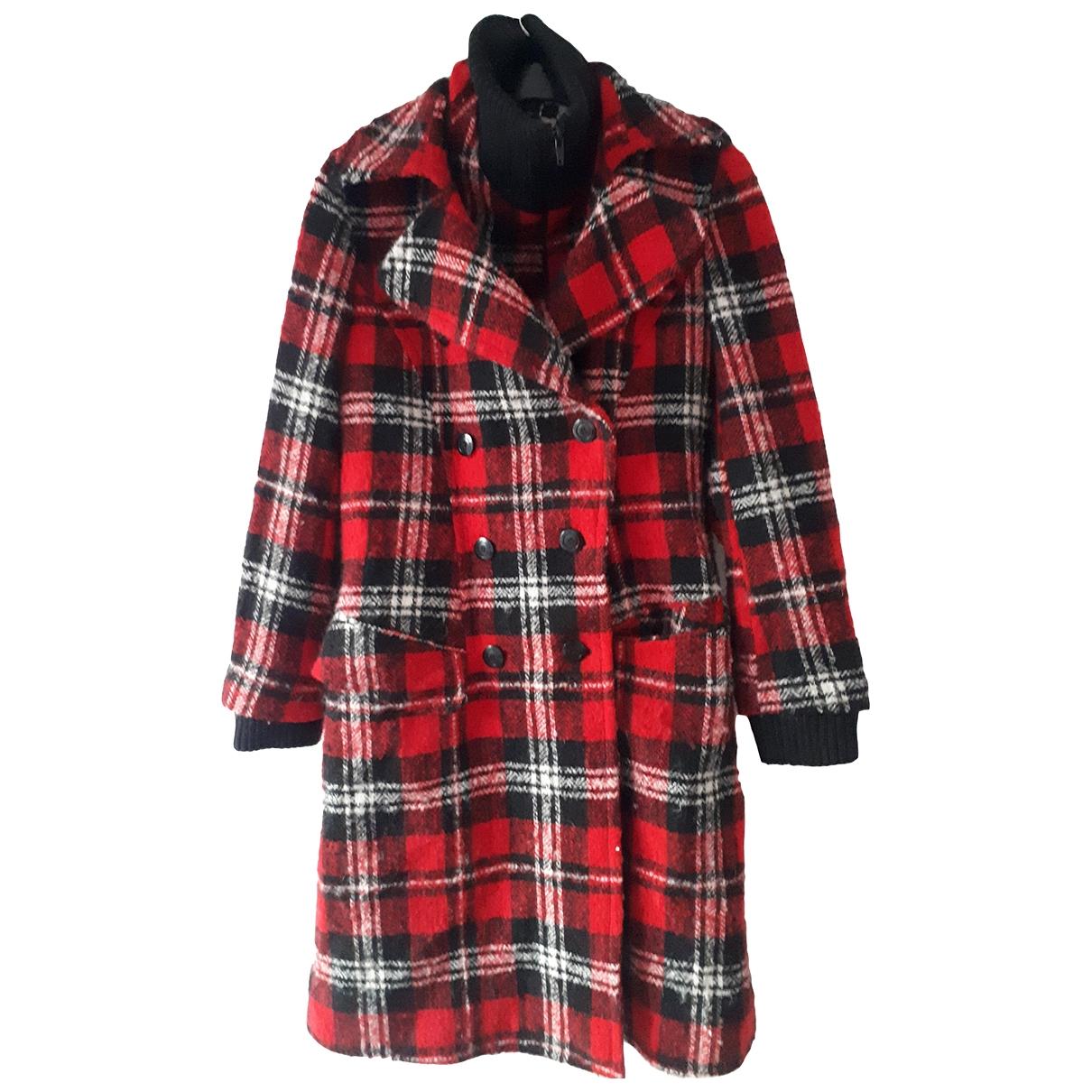Kenzo \N Maentel in  Rot Wolle