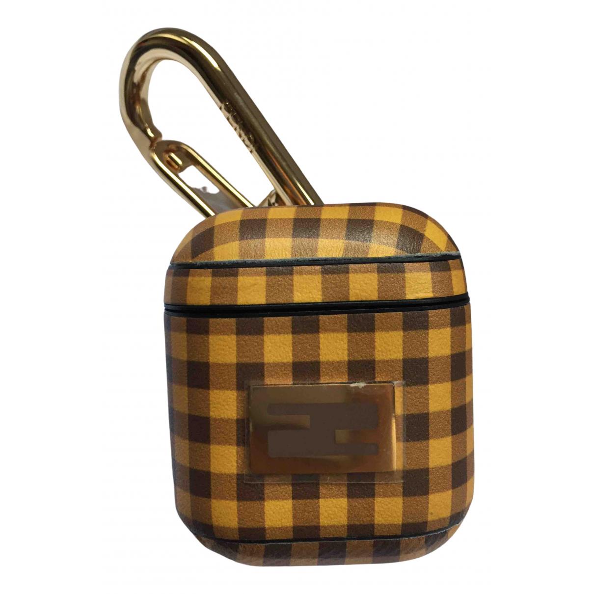 Fendi - Accessoires   pour lifestyle en cuir - jaune