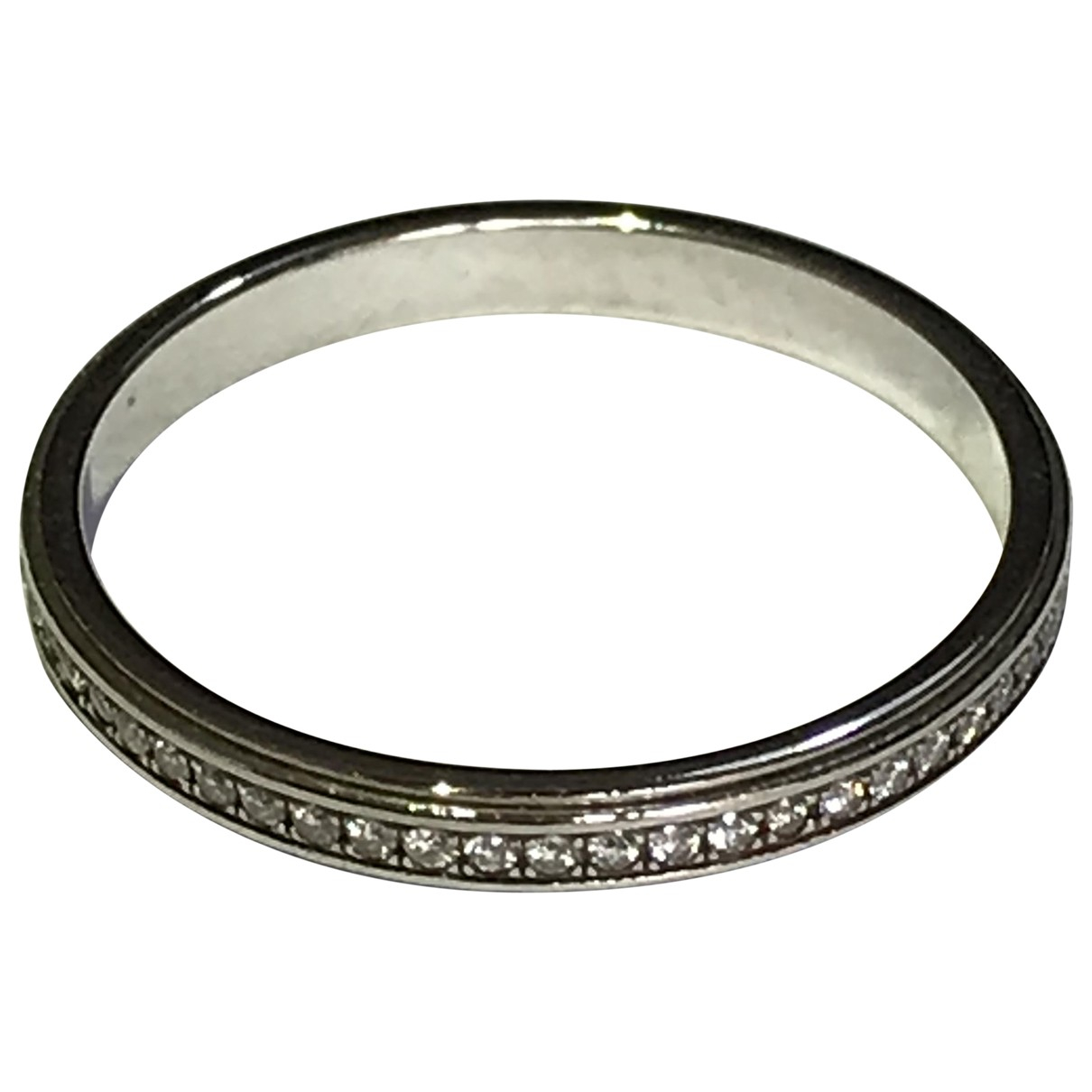 Cartier \N Ring in  Silber Platin