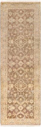 Hillcrest HIL-9011 26 x 8 Runner Traditional Rug in