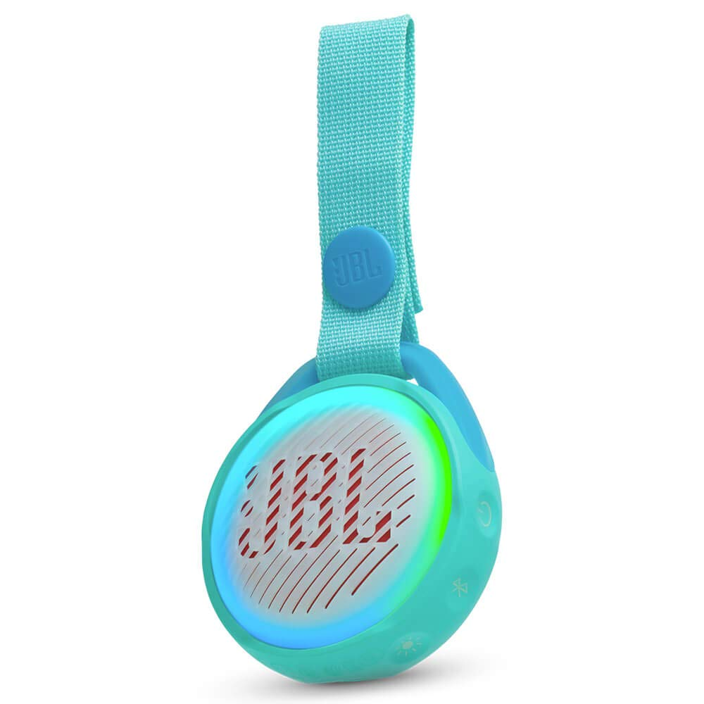 JBL JR POP Kids Portable Bluetooth Speaker, Aqua Teal