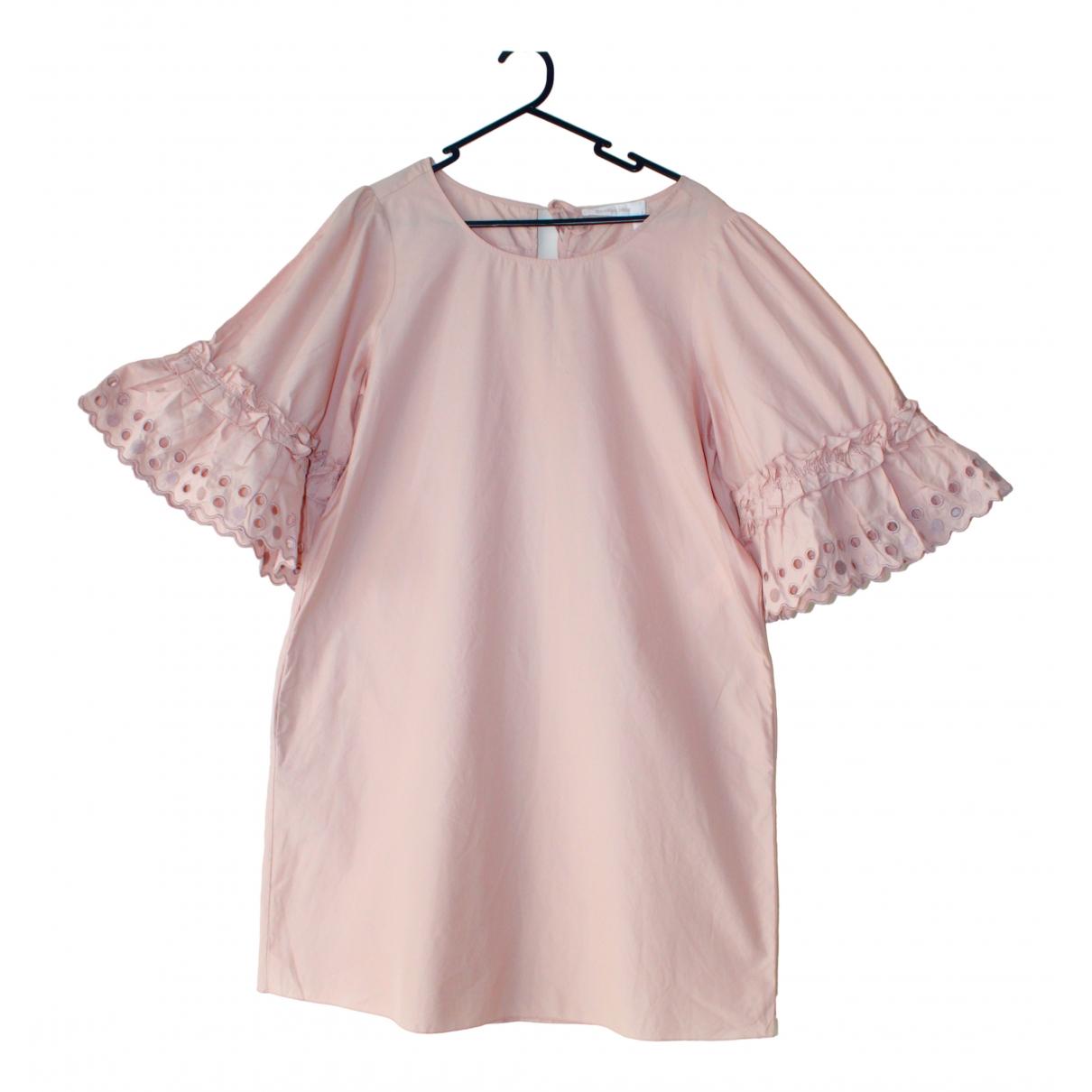 See By Chloe \N Kleid in  Rosa Baumwolle
