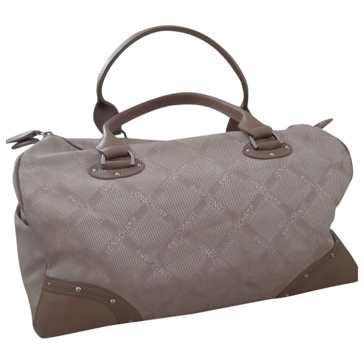 Longchamp \N Handtasche in  Beige Leder
