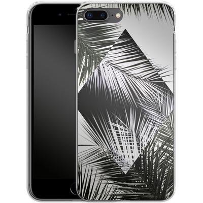 Apple iPhone 7 Plus Silikon Handyhuelle - Palm Leaves 3 Geometry 2 von Mareike Bohmer