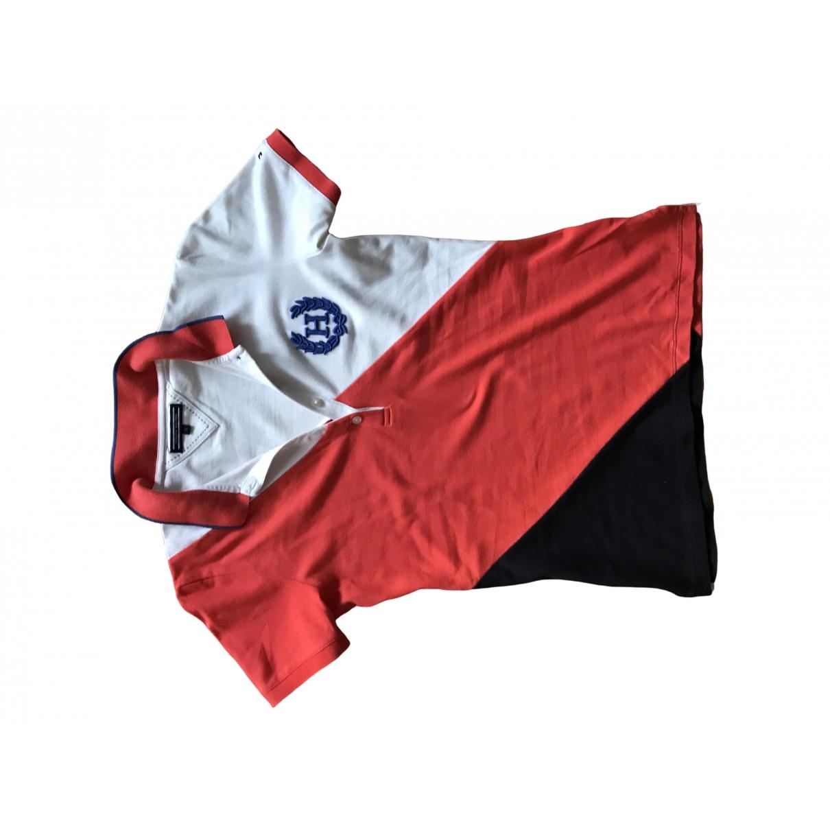 Tommy Hilfiger - Top   pour femme en coton - multicolore