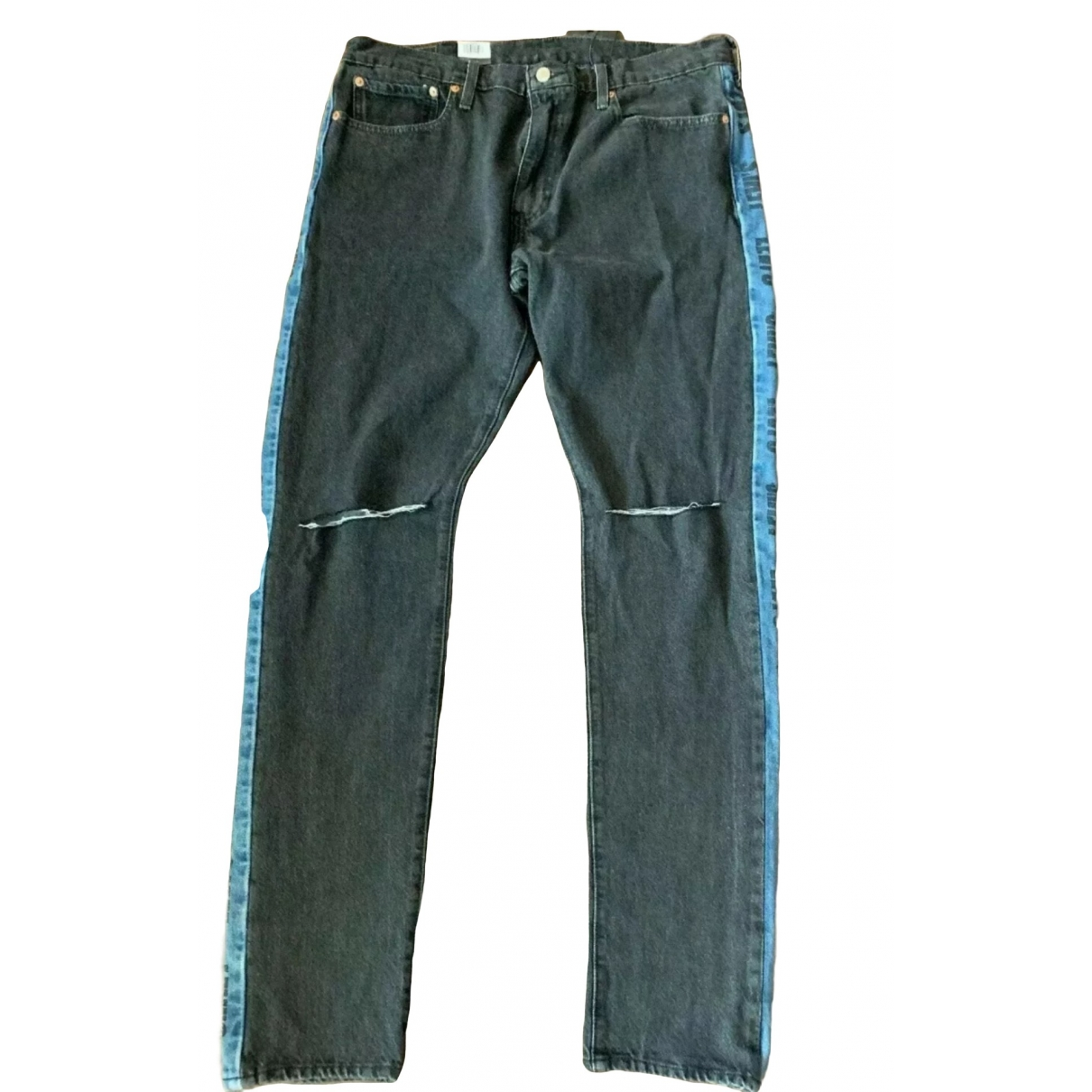 Levi's \N Black Cotton Jeans for Men 38 FR