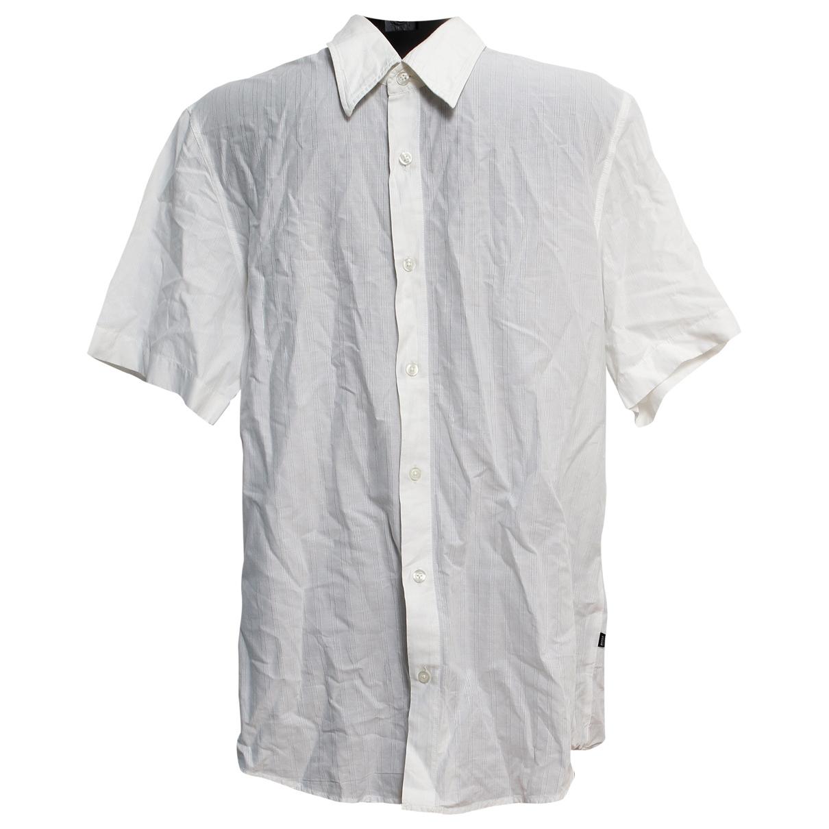 Boss \N Hemden in  Weiss Baumwolle