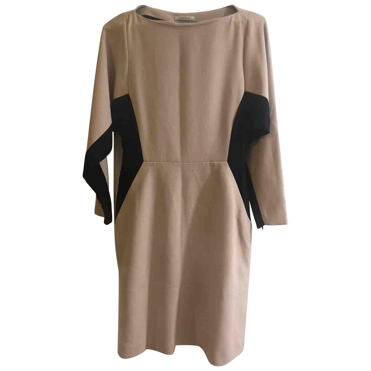 Bimba Y Lola \N Ecru dress for Women S International