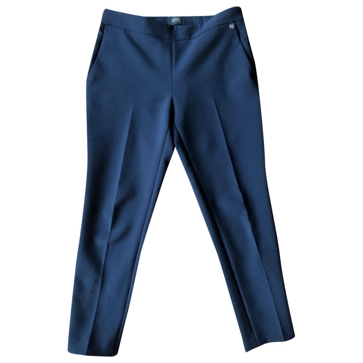 Liu.jo \N Blue Trousers for Women 42 IT