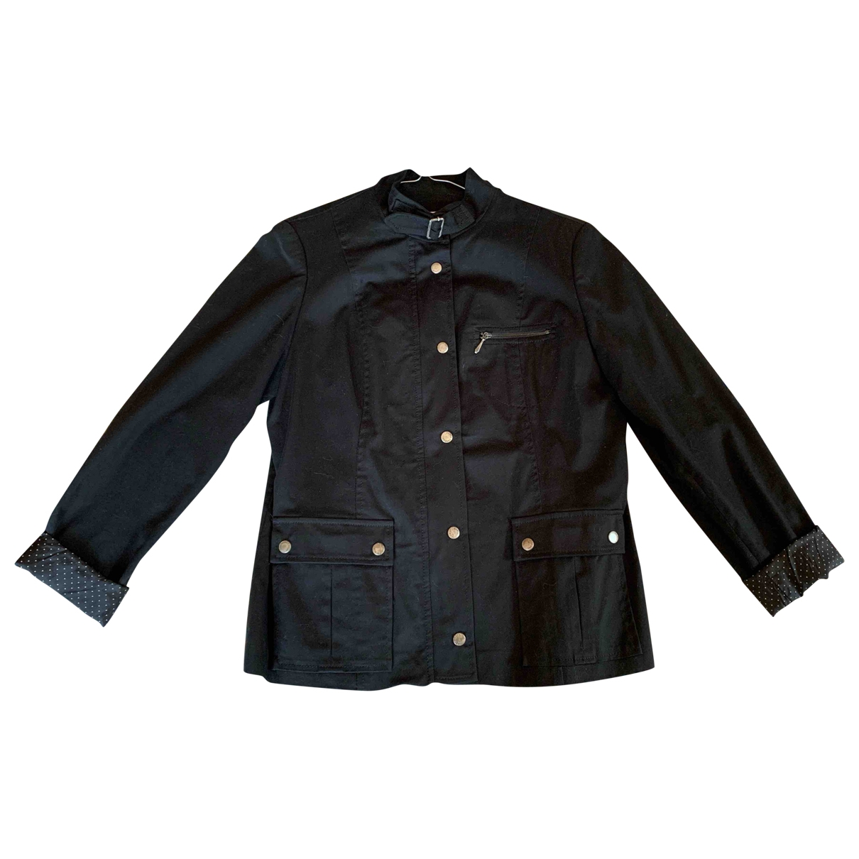 Lady Jean \N Black Cotton jacket for Women M International