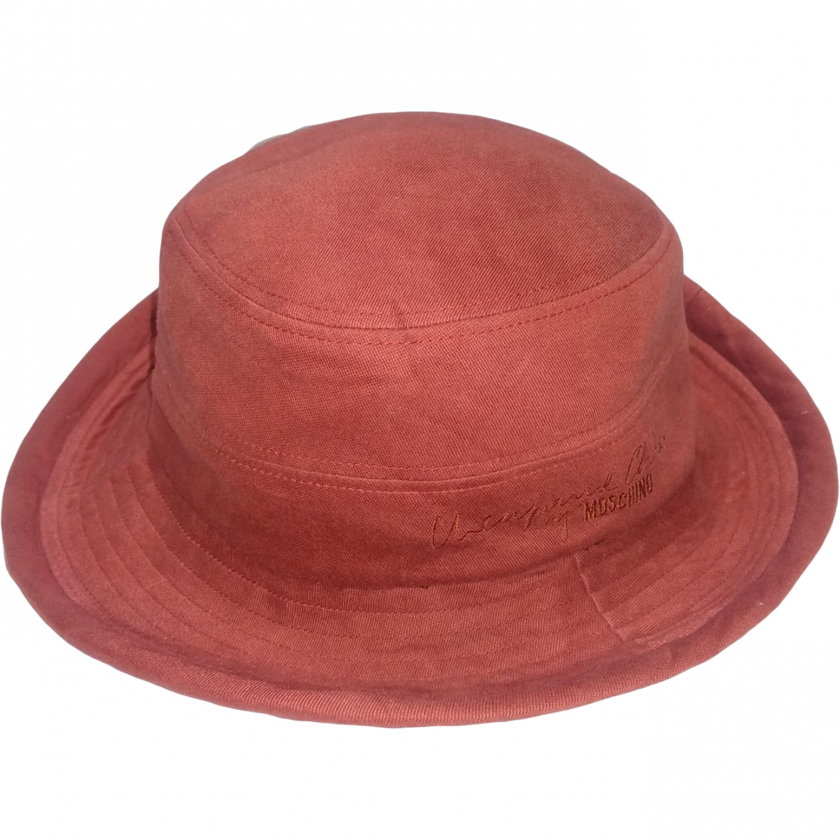 Moschino Cheap And Chic \N Orange Cotton hat for Women M International