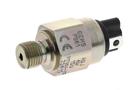 Gems Sensors Hydraulic Pressure Switch, SPST-NO 40 → 150psi, 42 V dc, BSP 1/4 process connection