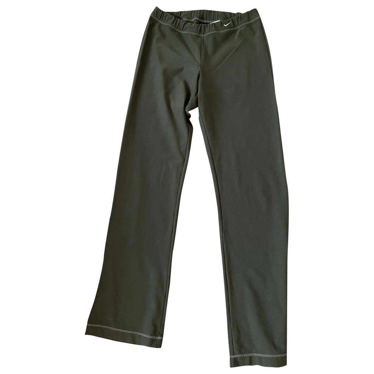 Nike \N Green Trousers for Women M International