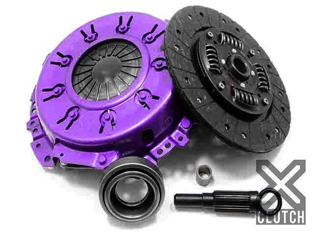 XClutch XKNI23009-1A Clutch Kit Stage 1 Single Solid Organic Clutch Disc