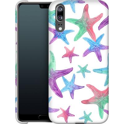 Huawei P20 Smartphone Huelle - Starfish Print von Becky Starsmore