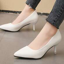 Point Toe Stiletto Court Heels