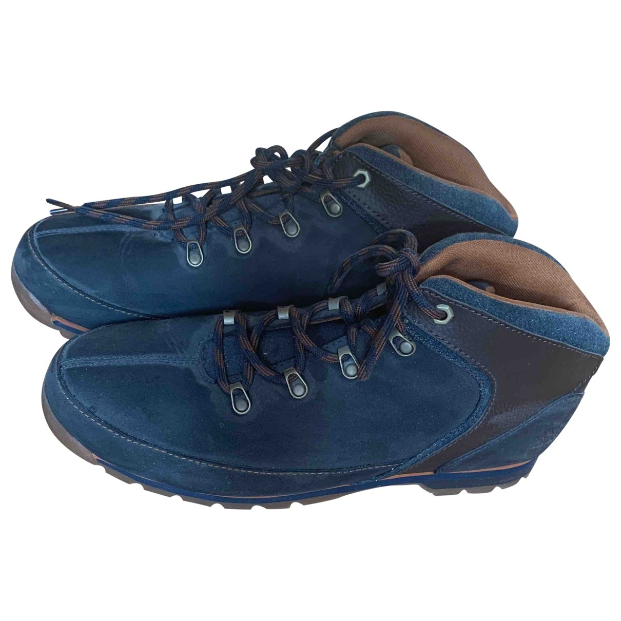 Timberland \N Navy Boots for Men 12.5 UK