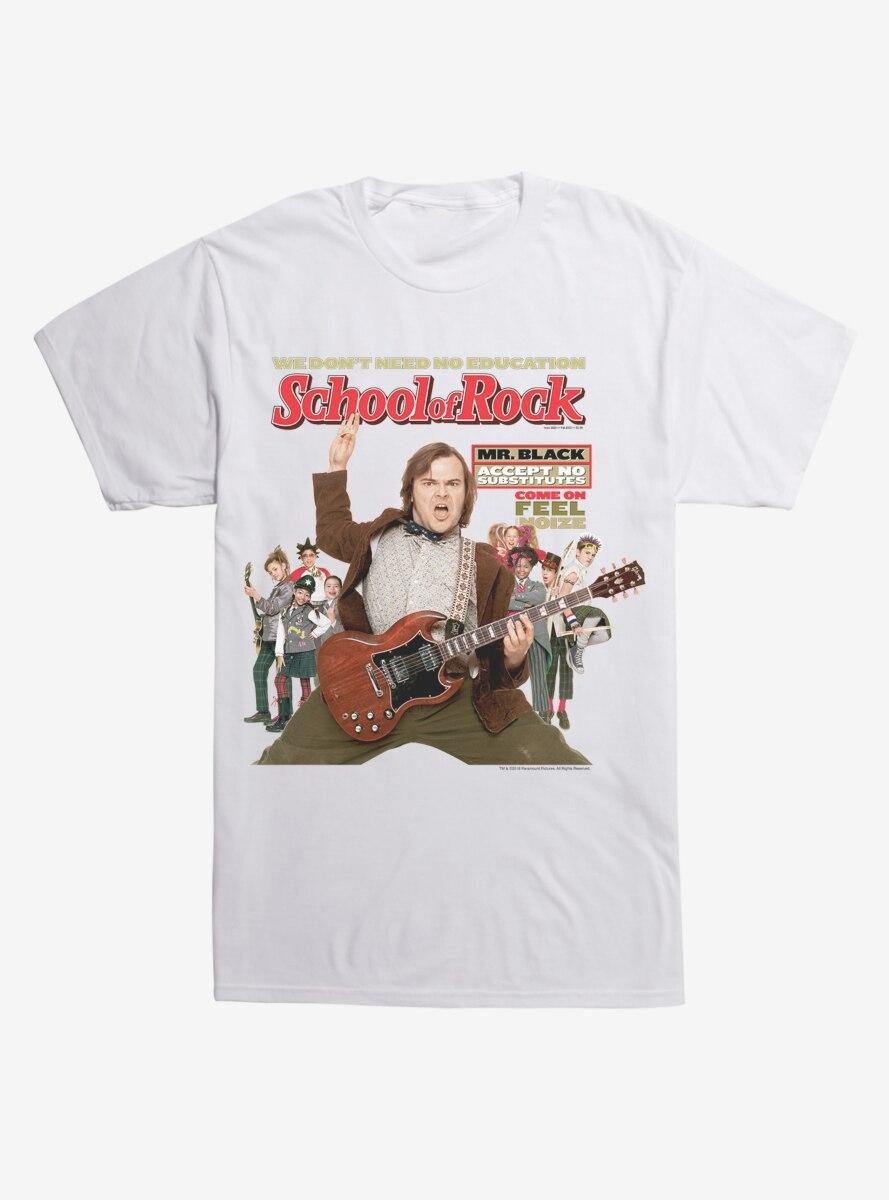 School of Rock Poster T-Shirt