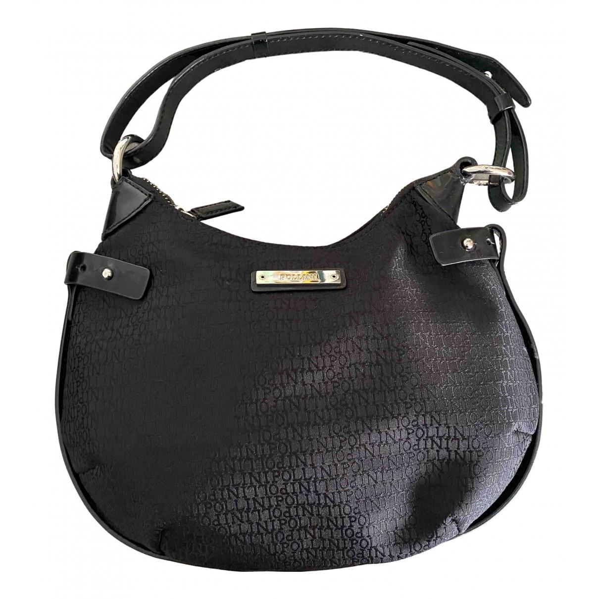 Pollini \N Handtasche in  Schwarz Synthetik