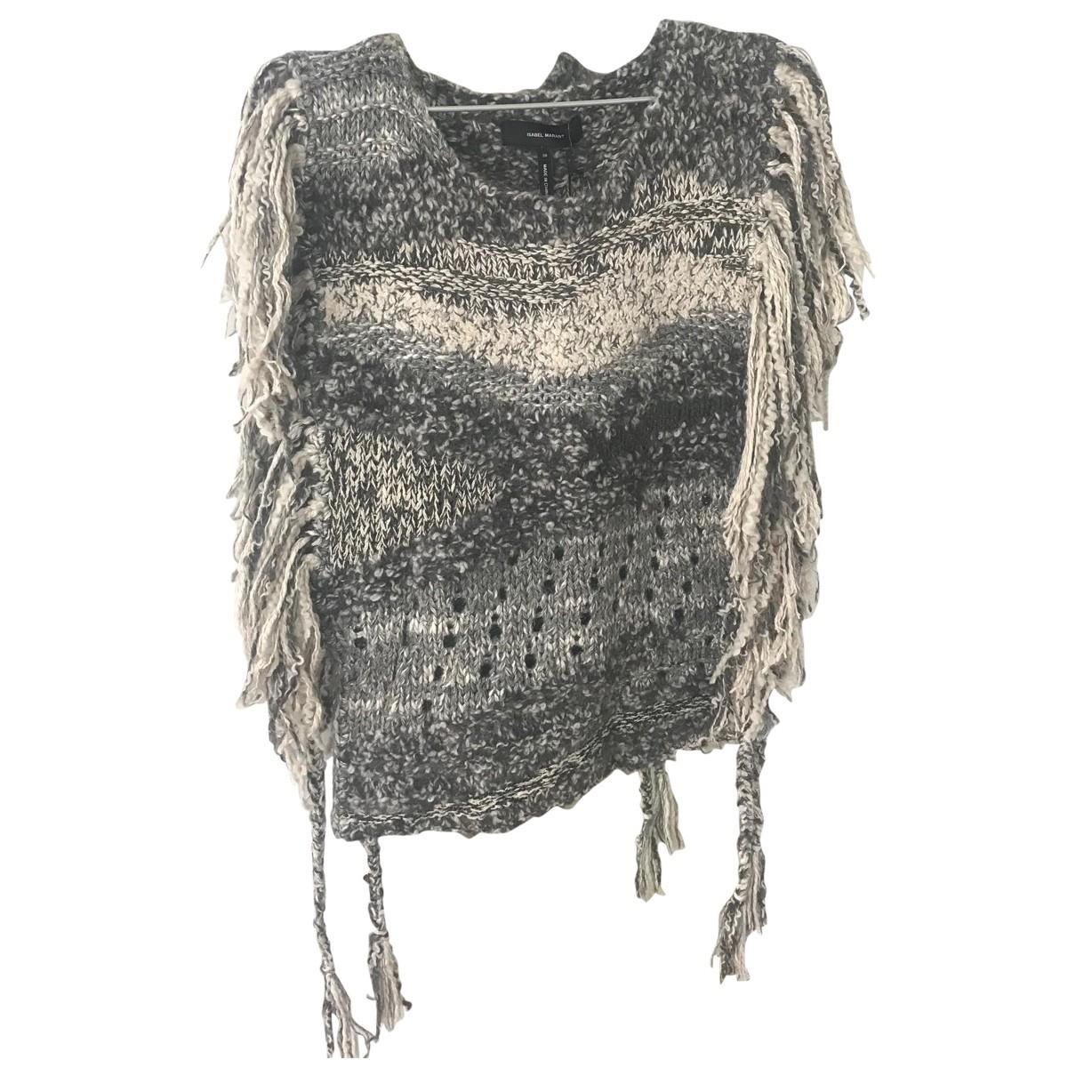 Isabel Marant - Pull   pour femme en soie - gris