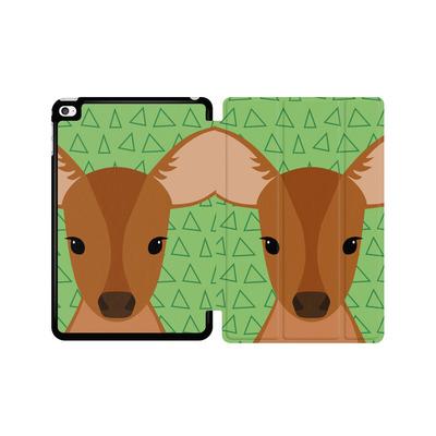 Apple iPad mini 4 Tablet Smart Case - Deer on Green von caseable Designs