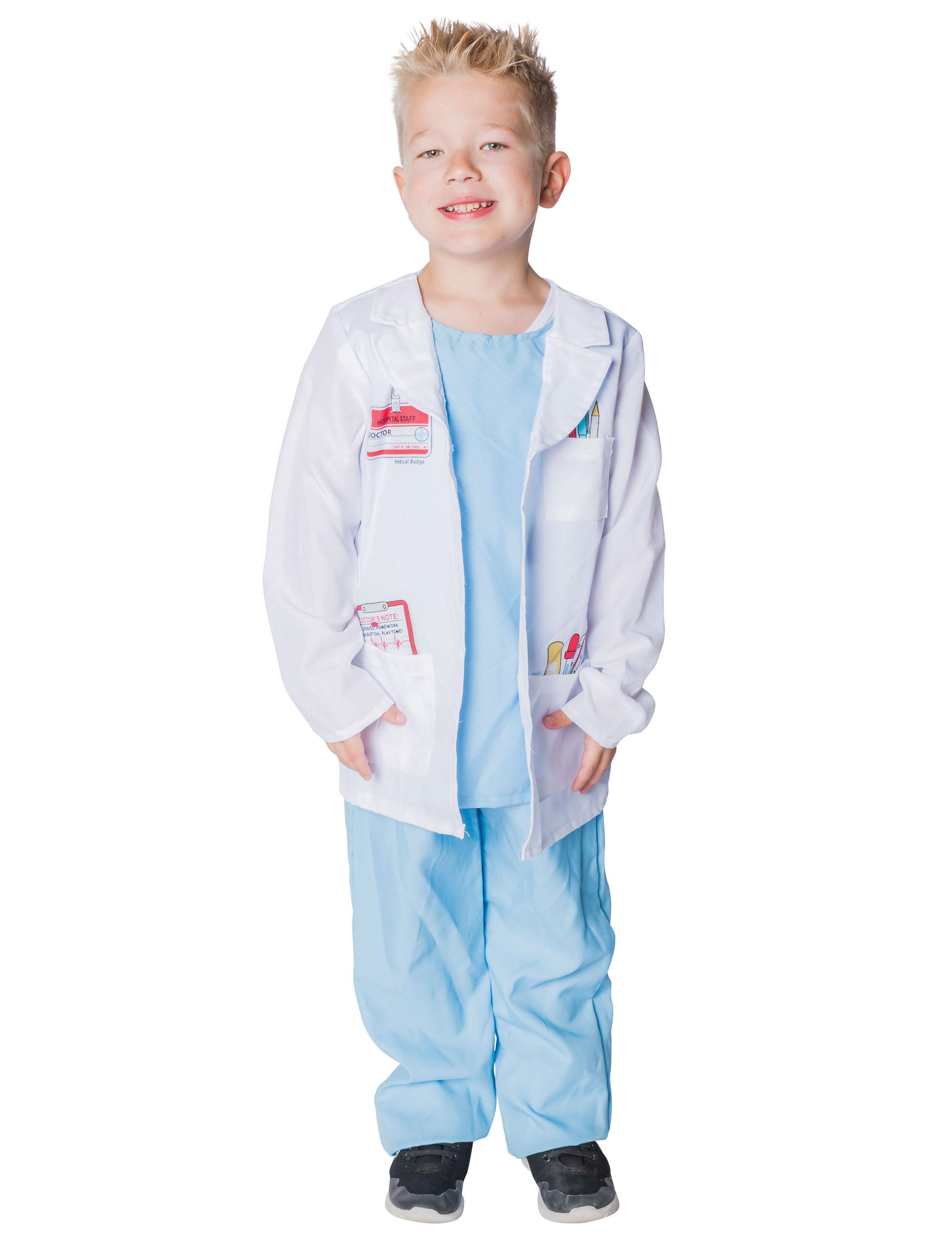 Kinder-Kostuem Doktor Kinder Grosse: 128/140