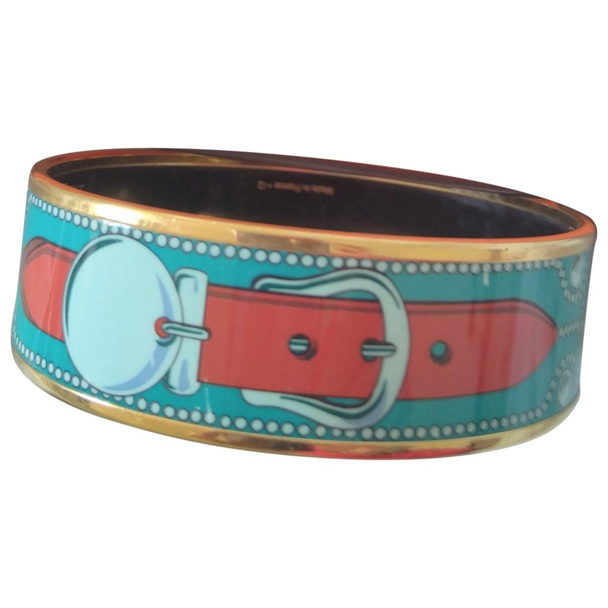 Hermes - Bracelet Bracelet Email pour femme en metal - multicolore