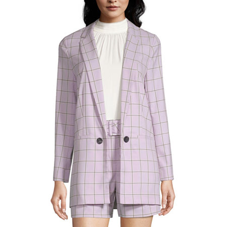 Worthington Womens Classic Fit Blazer, Petite X-large , Purple