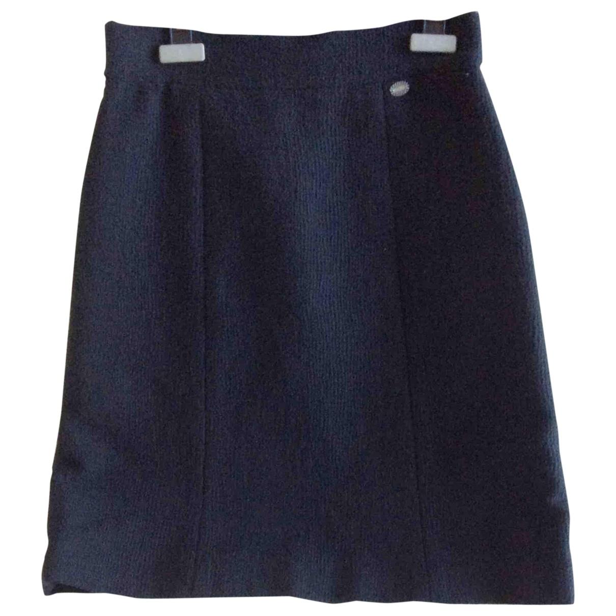 Chanel \N Rocke in  Blau Tweed