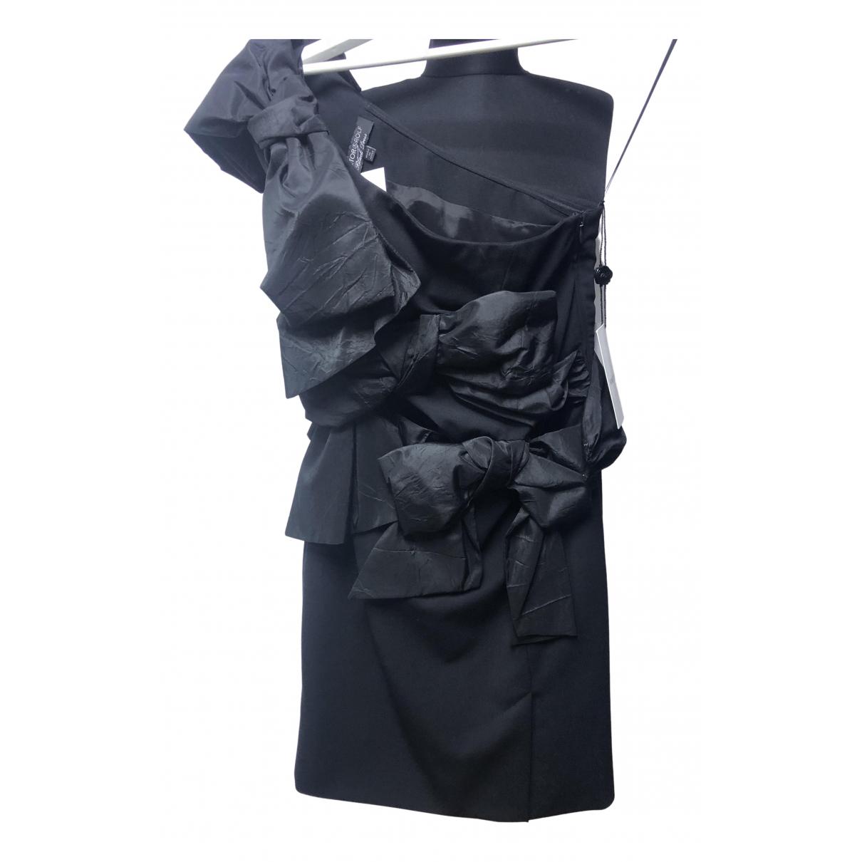 Viktor & Rolf - Robe   pour femme en soie - noir