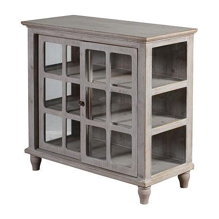 Archer Ridge Accent Cabinet, One Size , Gray