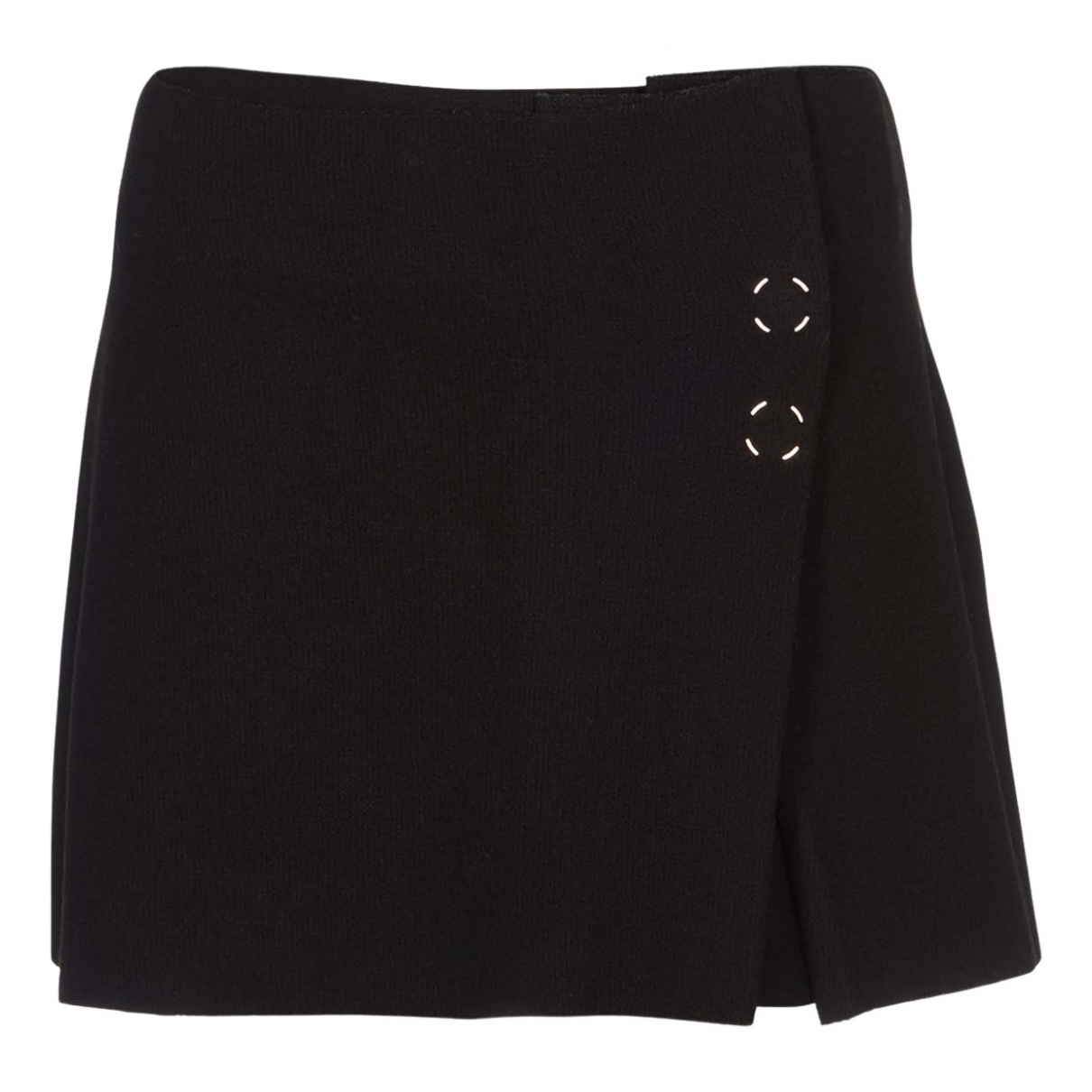 Acne Studios N Black Wool skirt for Women 6 UK