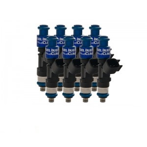 Fuel Injector Clinic IS300-1000H 1000cc (100 lbs/hr at OE 58 PSI fuel pressure) Injector Set (High-Z)