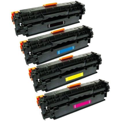 Compatible Canon 131 Toner Cartridge Combo BK/C/M/Y - Economical Box