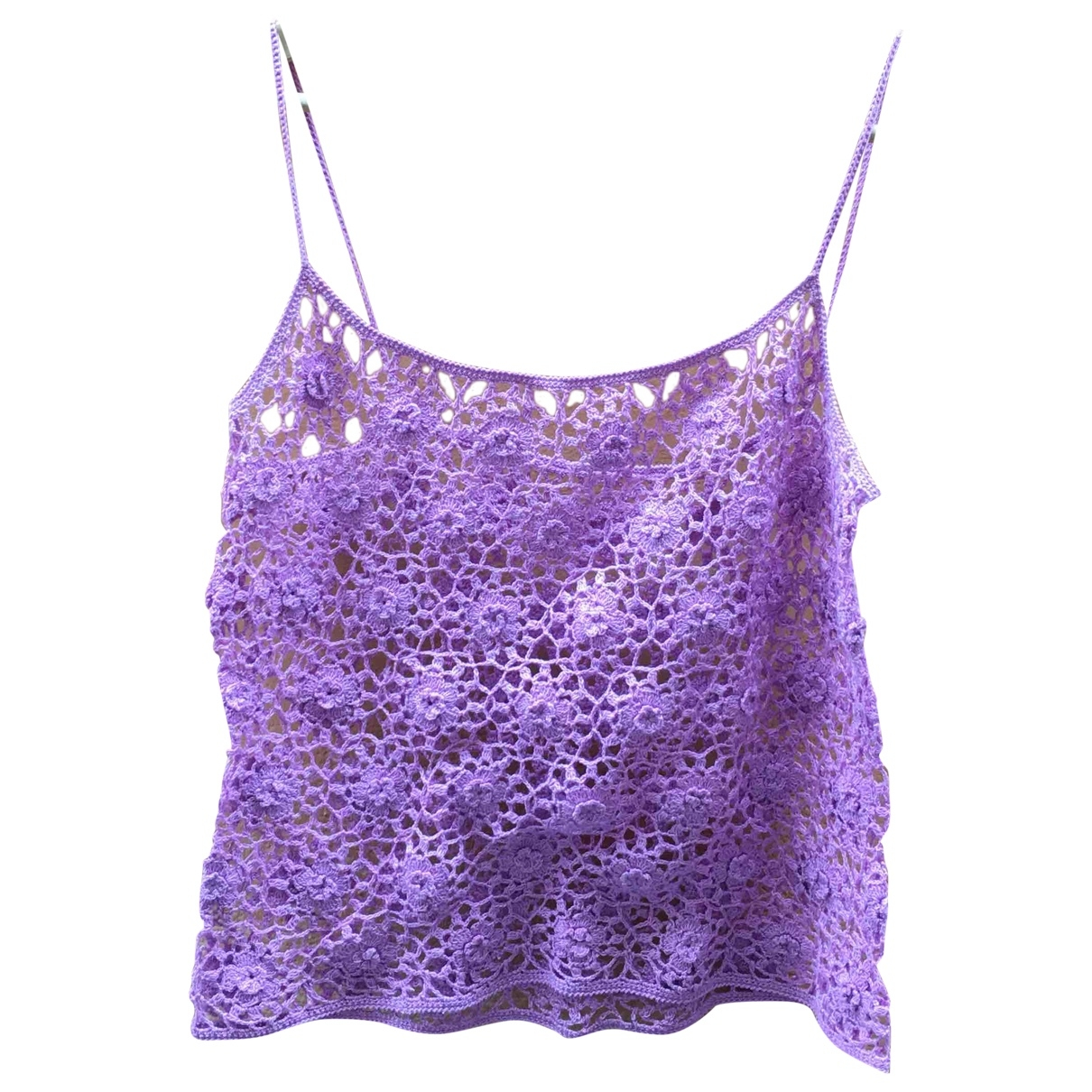 - Top Hippie Chic pour femme en coton - violet