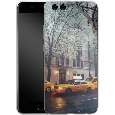 Huawei P10 Silikon Handyhuelle - NYC Yellow Cabs von Omid Scheybani