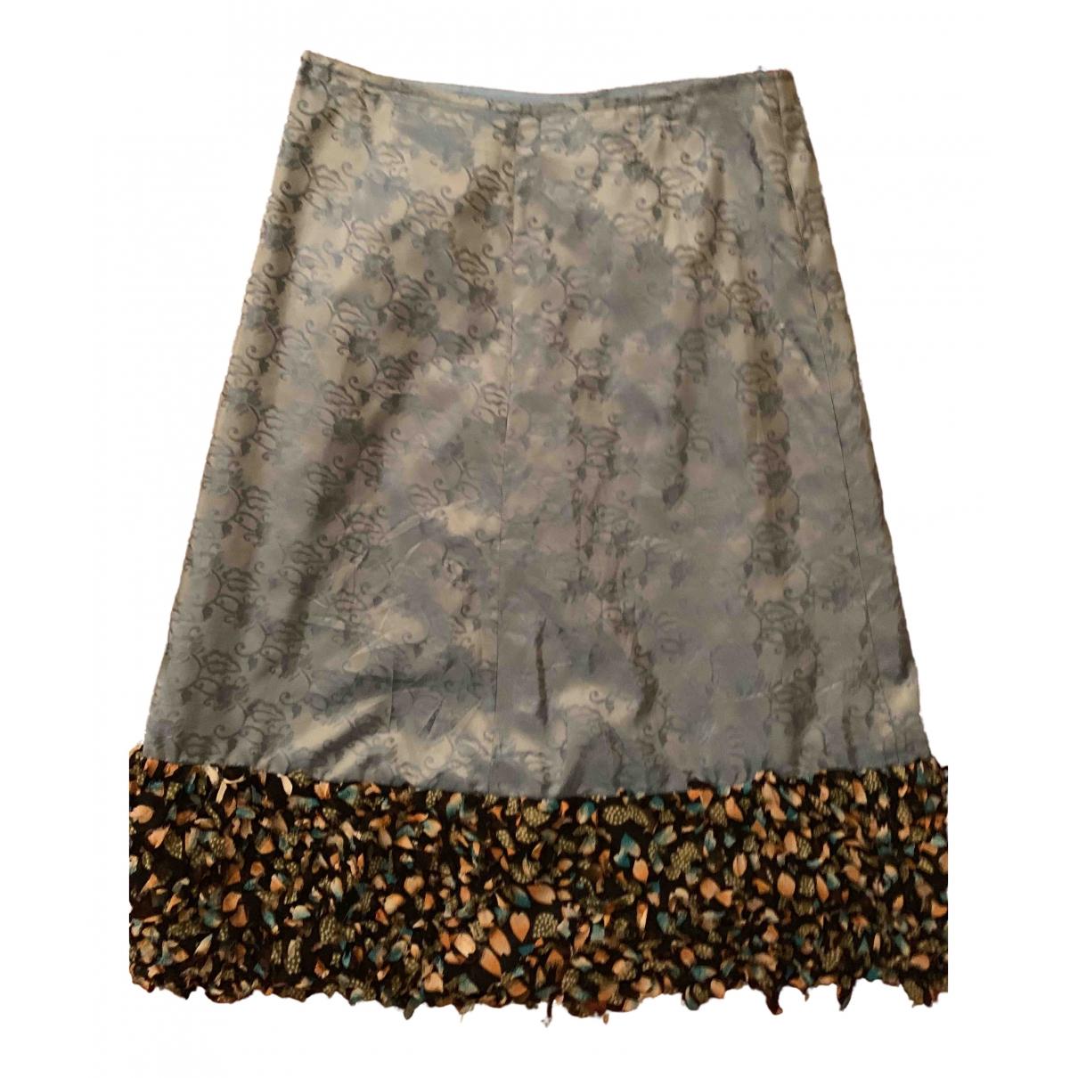 Pierre Cardin - Jupe   pour femme en soie - multicolore