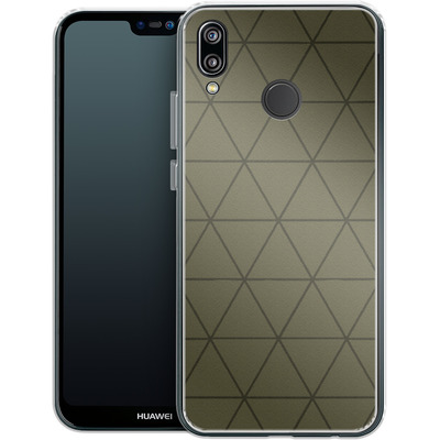 Huawei P20 Lite Silikon Handyhuelle - Moss von caseable Designs
