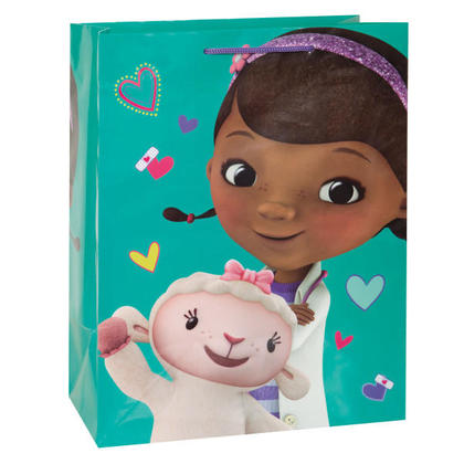 Doc Mcstuffins 1 Large Gift Bag 11½