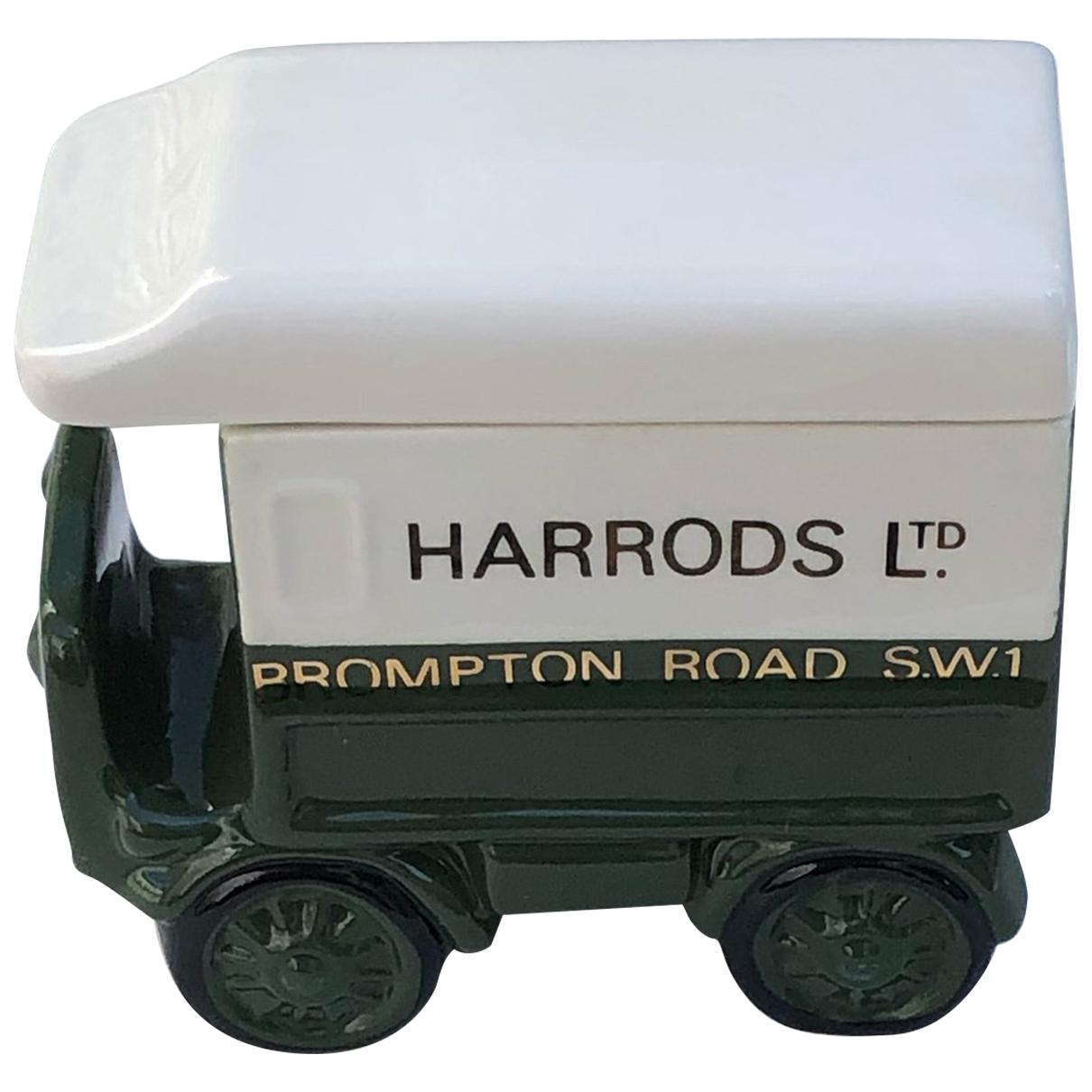 Harrods - Design   pour lifestyle en porcelaine - vert