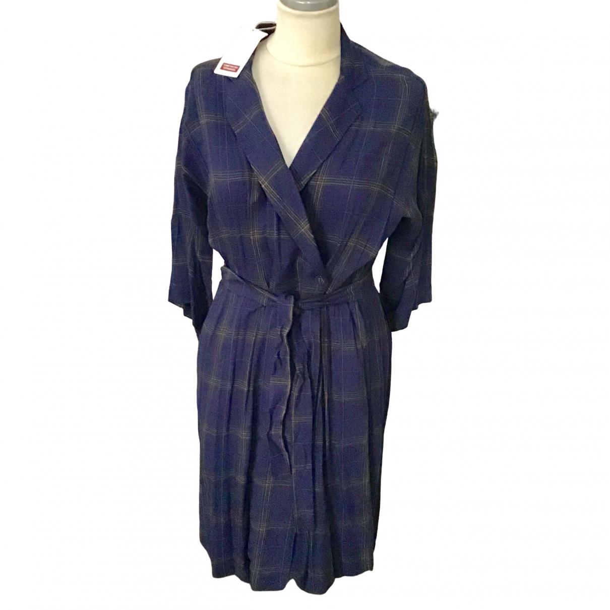 Comptoir Des Cotonniers \N Kleid in  Marine Viskose