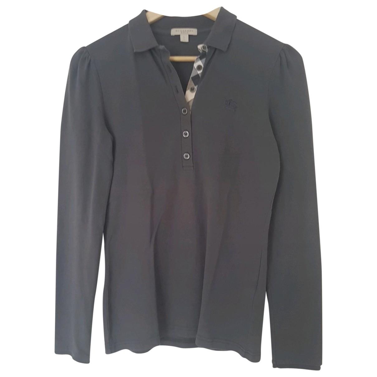 Burberry \N Top in  Grau Baumwolle