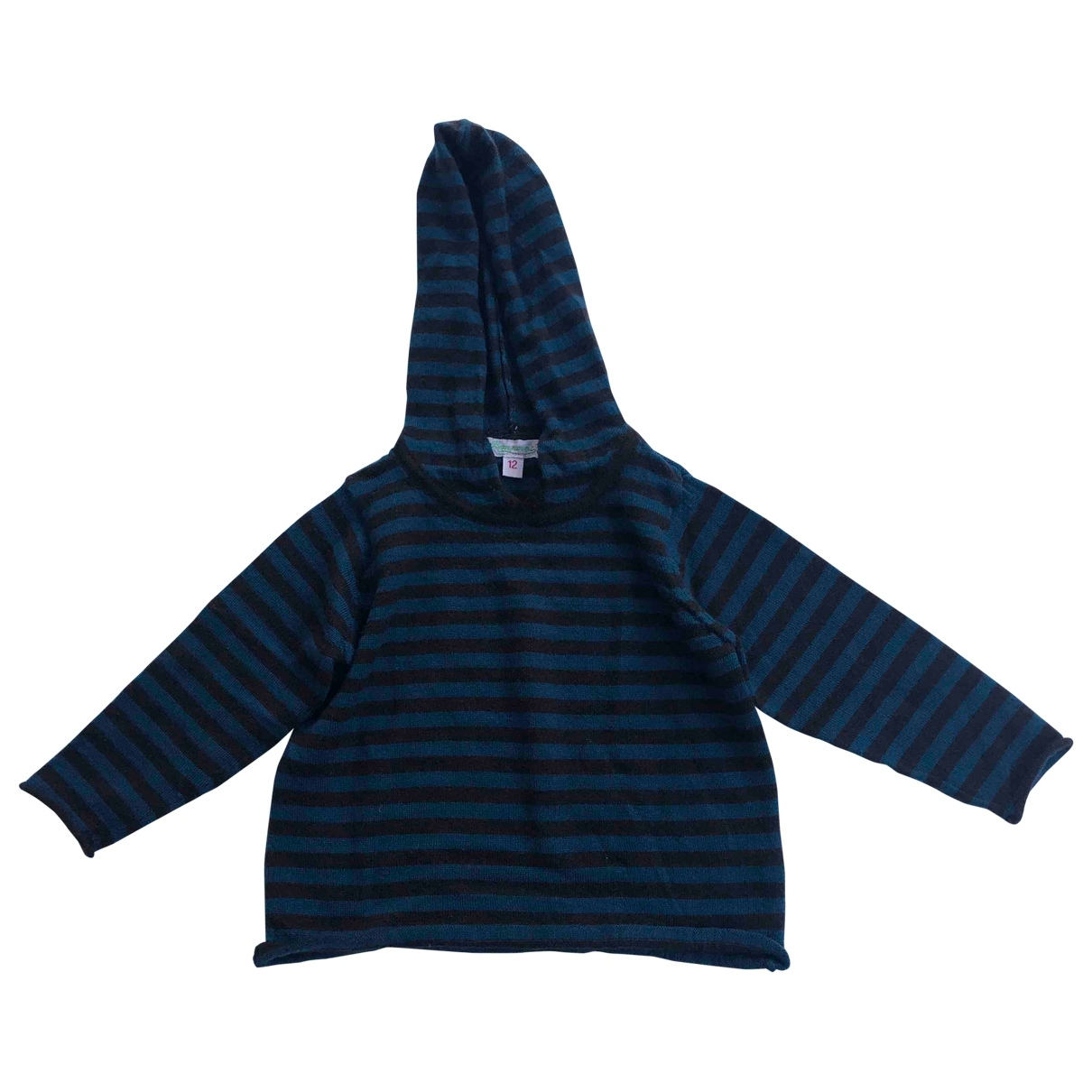 Bonpoint \N Blue Wool Knitwear for Kids 12 months - up to 74cm FR