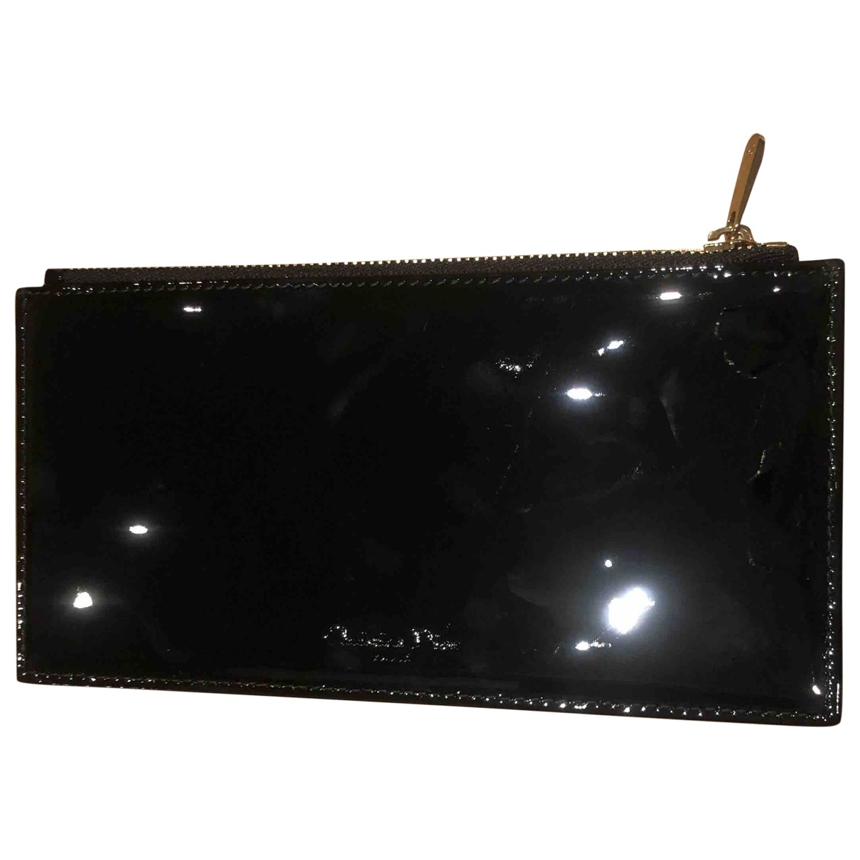 Christian Dior \N Black Patent leather Purses, wallet & cases for Women \N