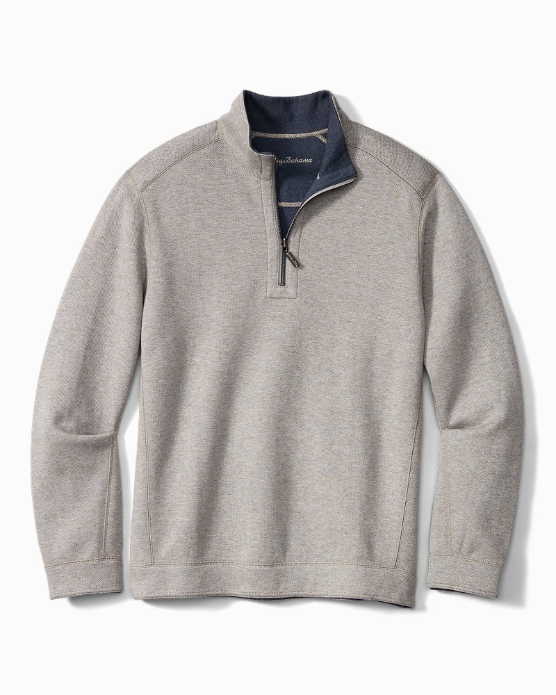 Flipshore Half-Zip Reversible Sweatshirt