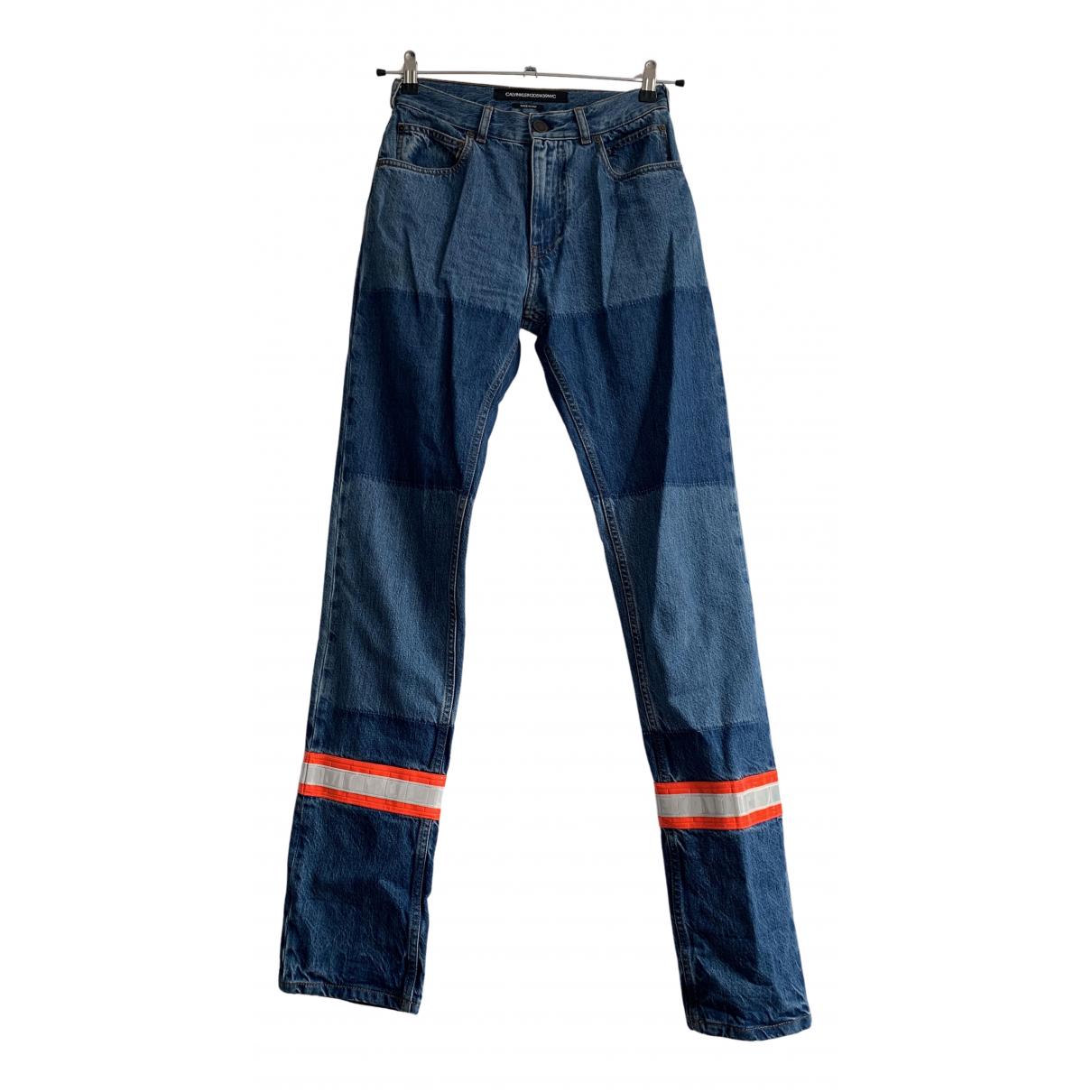 Calvin Klein 205w39nyc \N Jeans in  Blau Denim - Jeans