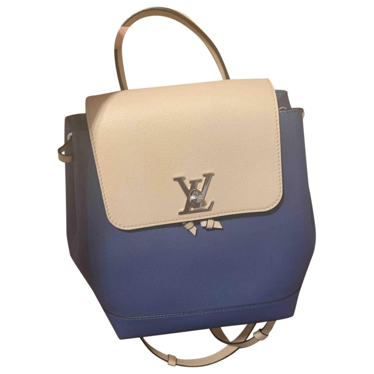 Mochila Lockme de Cuero Louis Vuitton