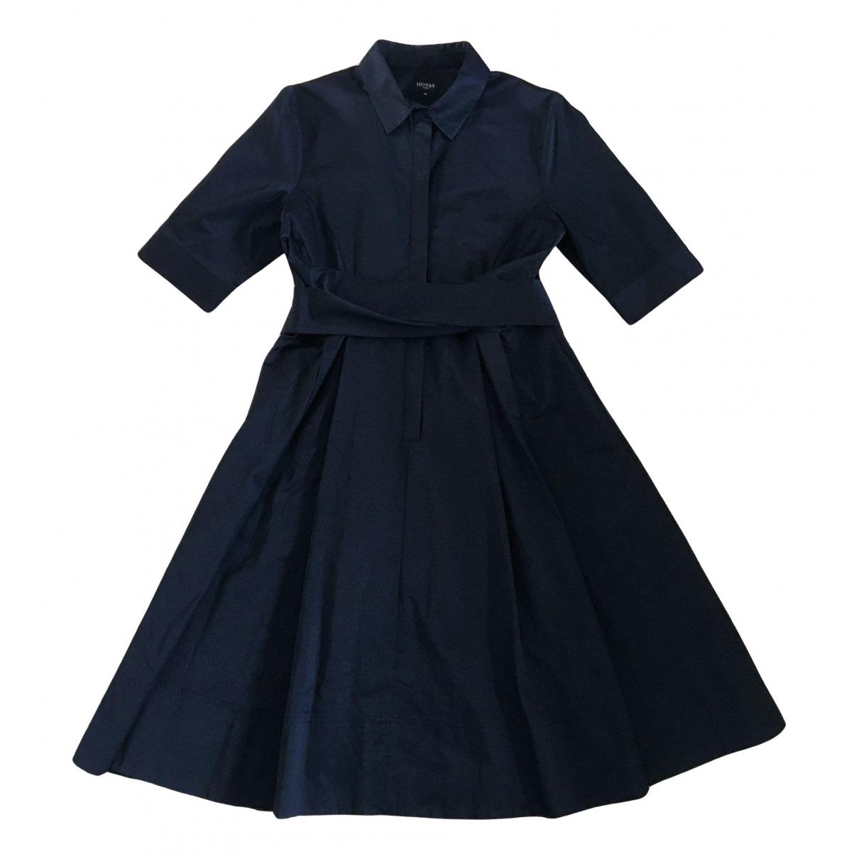 Hobbs - Robe   pour femme en coton - noir